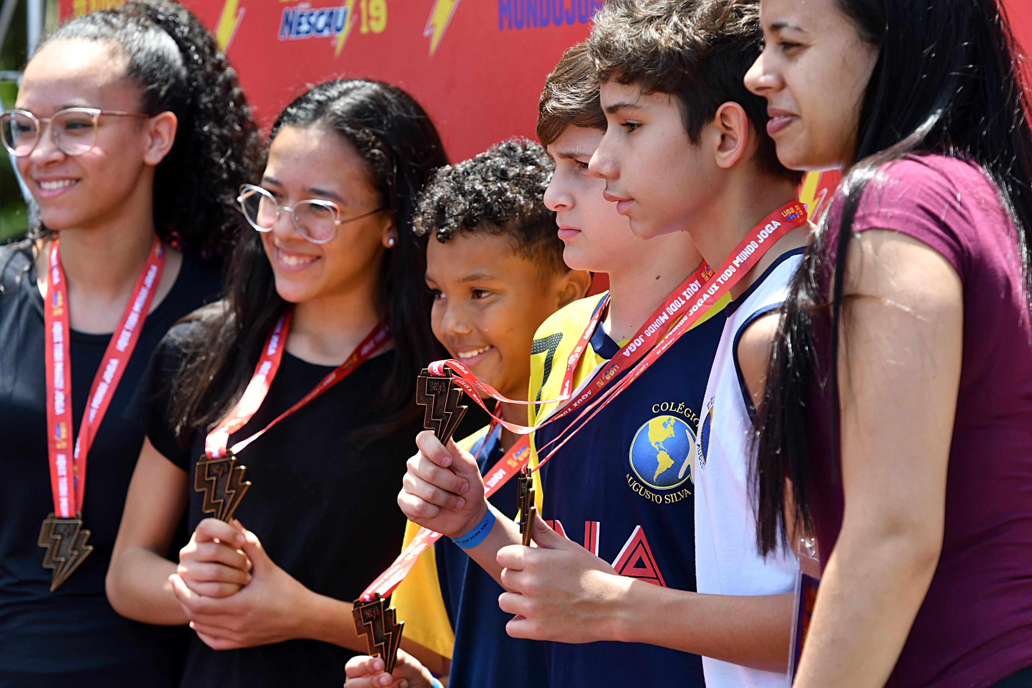 Liga Nescau reúne 4 mil alunos com e sem deficiência em competição estudantil 7