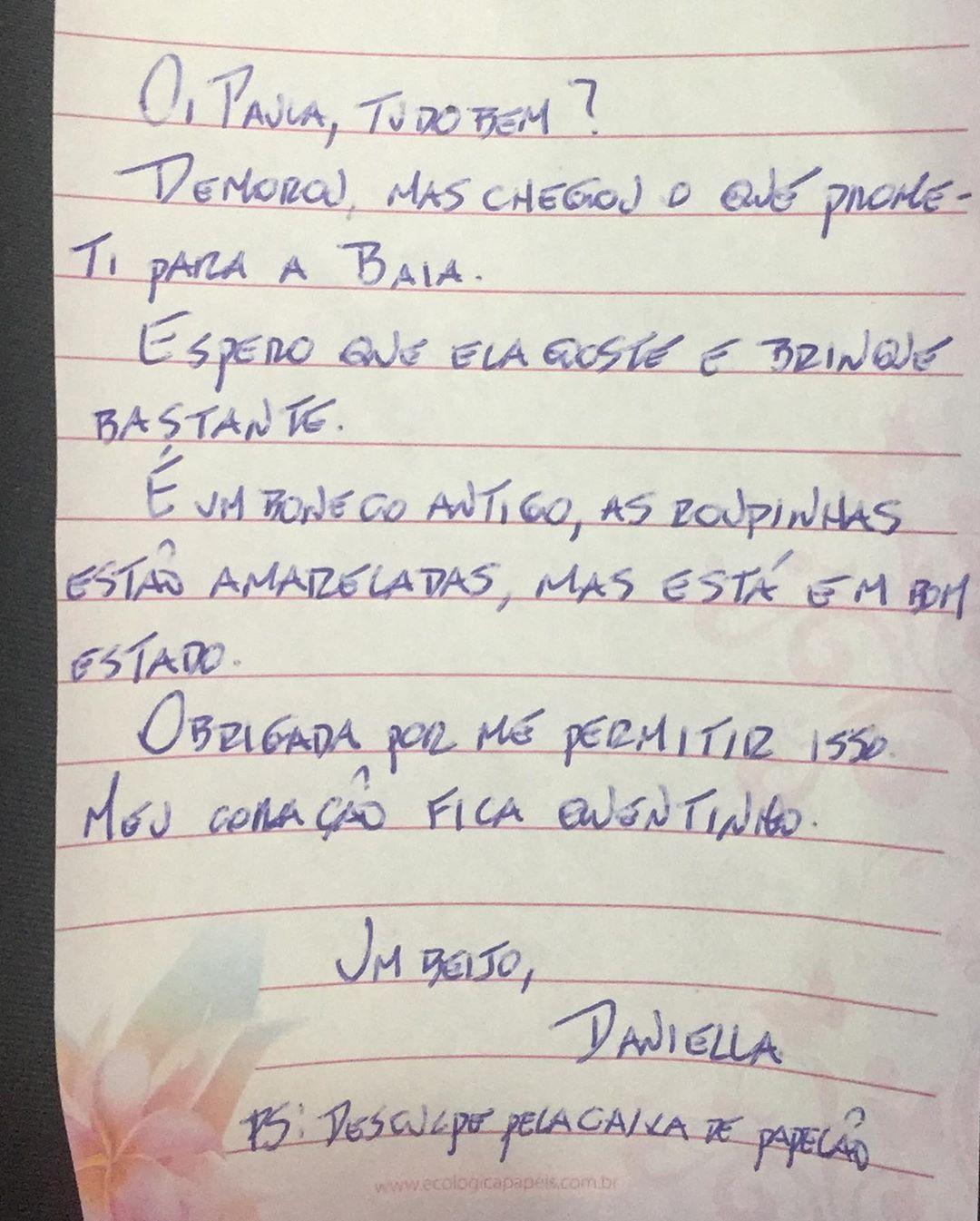 Carta de uma internauta a idosa que comemorou ainversário vestida de princesa