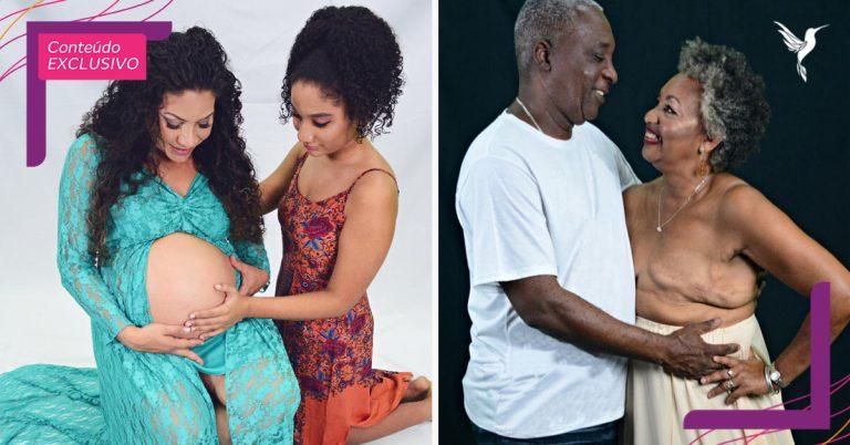 Ensaio retrata a importância da família no tratamento do câncer de mama 1