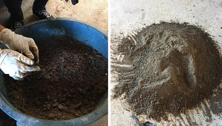 UFBA transforma óleo recolhido nas praias do Nordeste em carvão 1