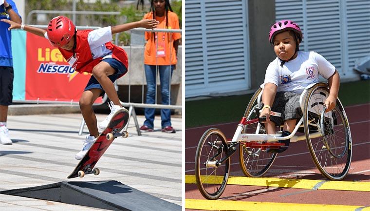 Liga Nescau reúne 4 mil alunos com e sem deficiência em competição estudantil 8