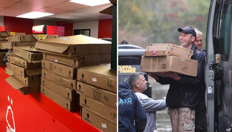Clube doa 3 mil refeições que seriam vendidas a torcedores após partida ser cancelada 4
