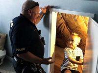 Policial visita menino para tranquilizá-lo sobre 'monstros escondidos' em seu quarto 6