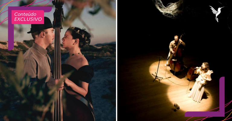 Casal de músicos cegos se apresenta no escuro e público tem olhos vendados para vivenciar outra realidade