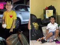 Desde os 3 anos menino junta tampinhas para ajudar projeto na compra de cadeira de rodas