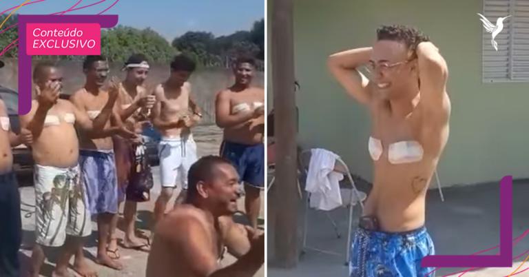 O vídeo dessa família homenageando um homem trans é puro amor!