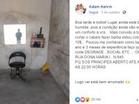 Jovem barbeiro improvisa salão na garagem de casa e recebe apoio de internautas 6