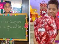 Após matéria do Razões, alunos ganham presentes e festa do Dia das Crianças
