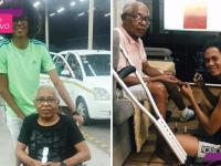 Jovem aprende a cuidar sozinho do pai idoso e retrata as dificuldades após morte da mãe