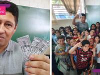 Professor cria 'moeda' para incentivar boas atitudes de alunos