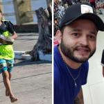 Garoto que disputou corrida descalço ganha tênis de cantor em Amapá (AP)