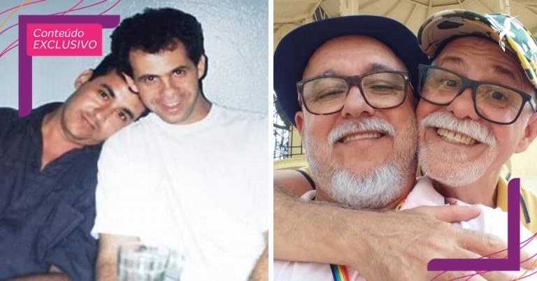 """Juntos há 34 anos, casal gay enfrenta o preconceito e prova que """"não é apenas uma fase"""""""