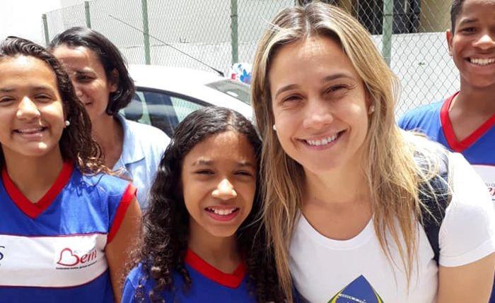 ONG de Fernanda Gentil já beneficiou mais de 2,6 mil crianças e adolescentes em vulnerabilidade 4