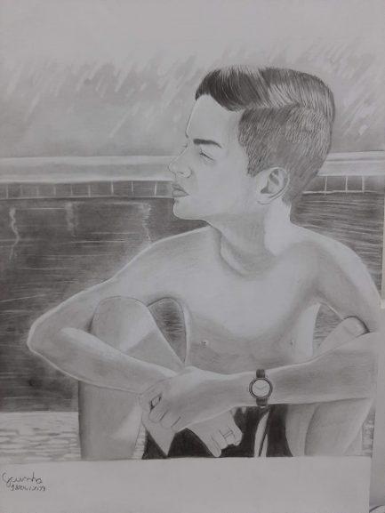 """Garoto autista faz desenhos que parecem fotografias: """"ajuda na minha ansiedade"""" 2"""