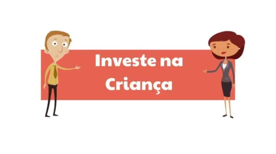 reprodução do canal investe na criança