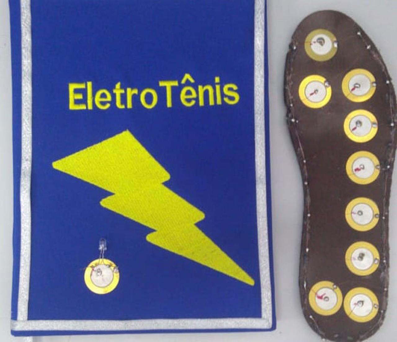 tênis que gera energia limpa carrega celular