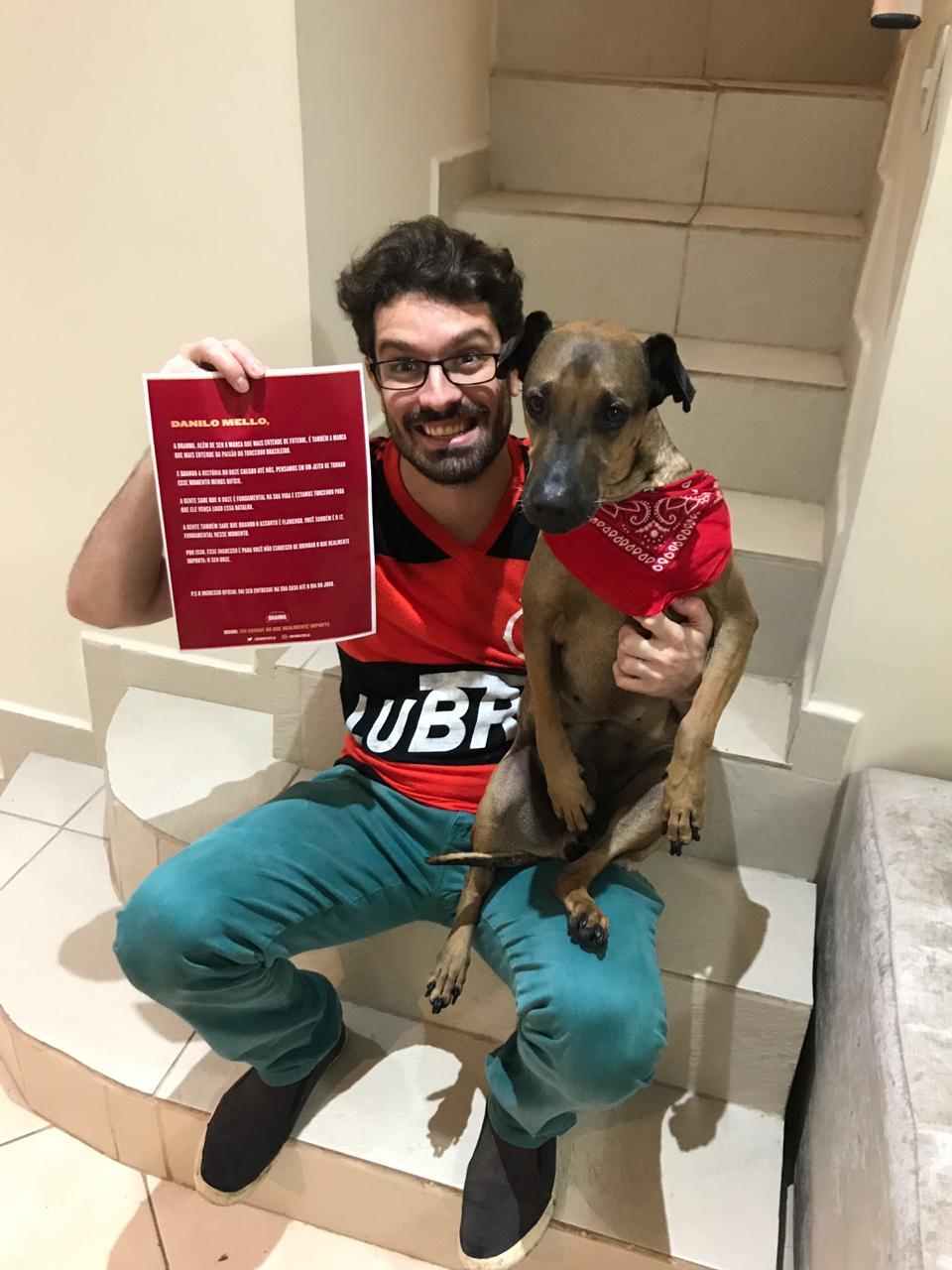 rifa ingresso cãozinho Doze torcedor ganha nova chance assistir jogo libertadores flamengo