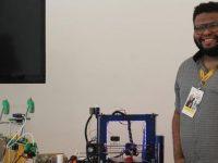 Engenheiro do Alemão cria impressora 3D com sucata