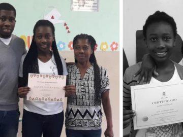Um ano após emocionar o país, aluna Eloá é destaque novamente 1