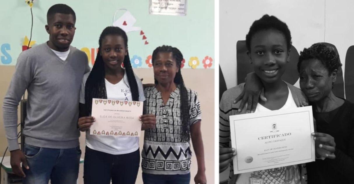 Um ano após emocionar o país, aluna Eloá é destaque novamente 2