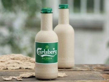 Cervejaria lança garrafa de papel: 'Zero ressaca ao meio ambiente' 1