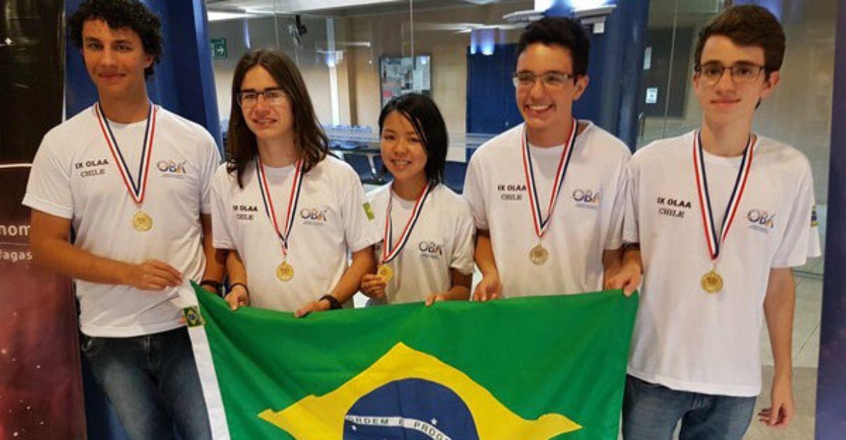 Brasil conquista o 1º lugar em olimpíada de astronomia e astronáutica 1