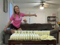 Mãe que perdeu filha doa mais de 100 litros de leite materno para outros bebês 8