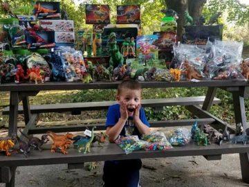 Menino sobrevivente câncer doa três mil brinquedos hospital onde foi tratado