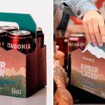 Cervejaria embalagem sementes vivas transformar hortaliças