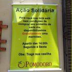 Restaurante oferece marmitex de graça para necessitados em Americana (SP) 3