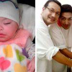 Casal gay adota bebê com HIV que foi rejeitada por 10 famílias 2