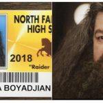 Escola permite fotos de alunos em carteirinhas inspiradas em filmes e memes 2