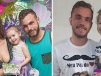 """Homem assume paternidade de filha de amiga: """"me escolheu como seu pai"""" 4"""