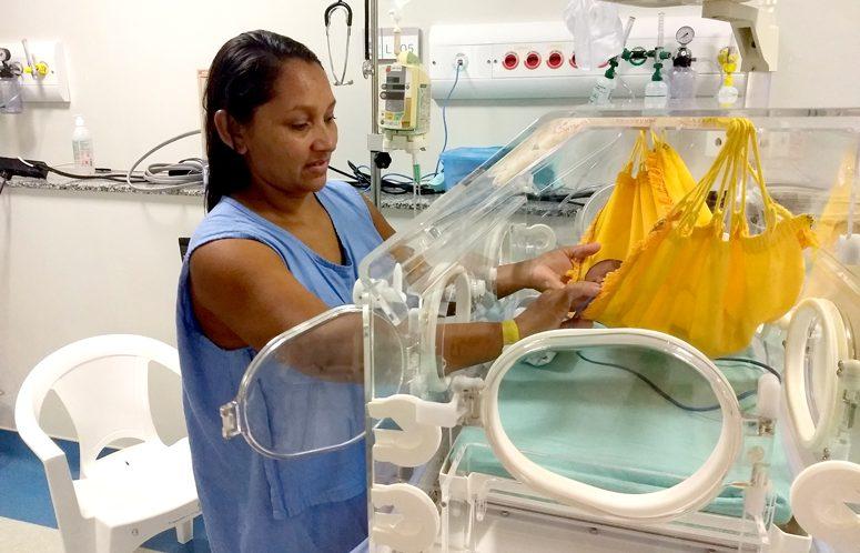 Redeterapia recuperação de bebês prematuros