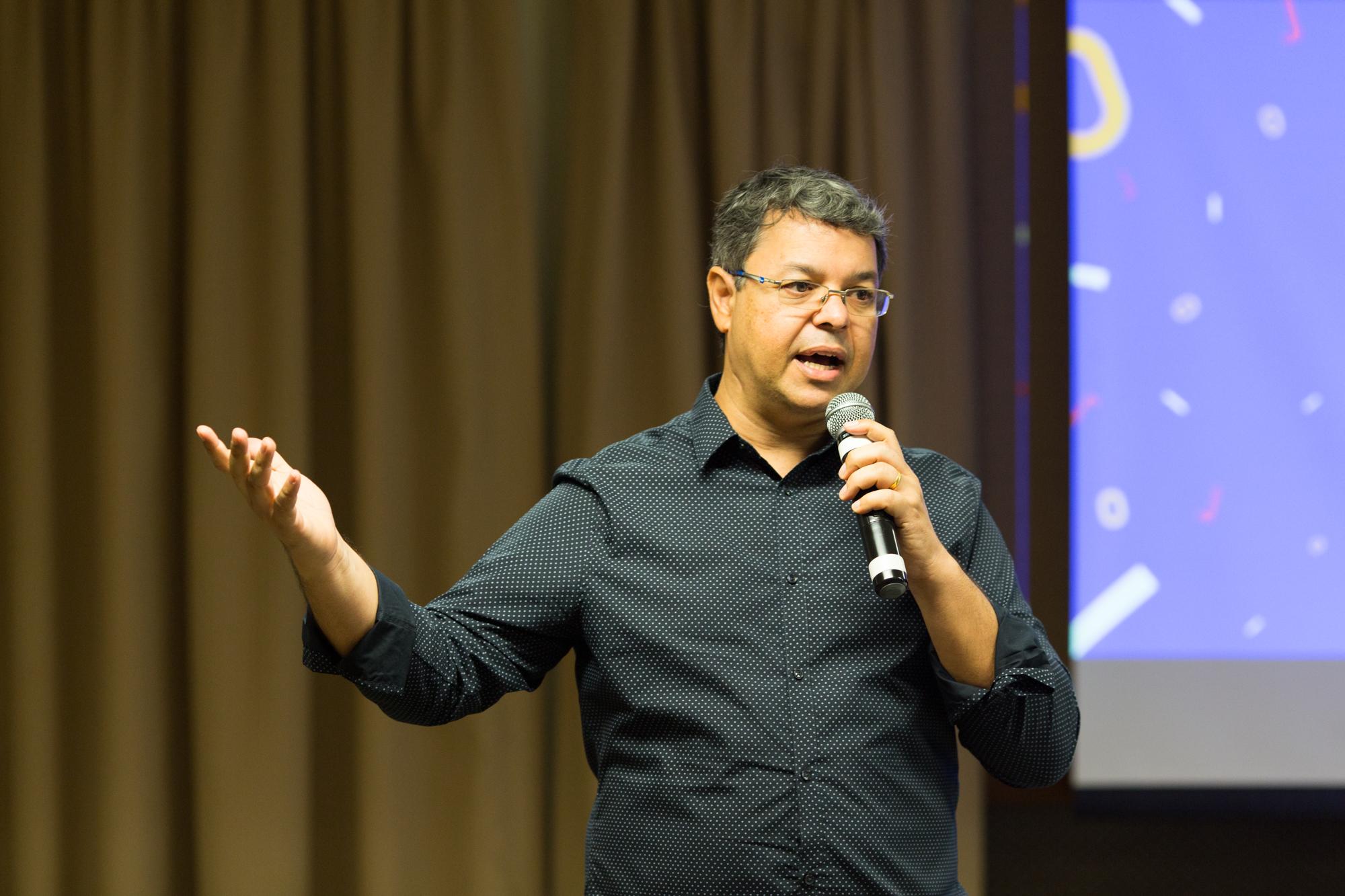 Vanderson Berbat, diretor do Impulsiona