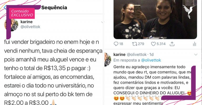 post jovem twitter vendendo brigadeiro pagar aluguel casa