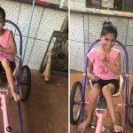 Campanha para ajudar menina com paralisia cerebral voltar a dançar bomba na internet 2