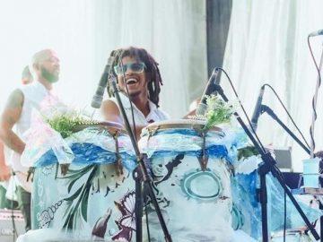 percussionista timbalada