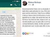 "Menino defende amigo negro de bullying e atitude viraliza: ""Defendi ele"" 4"