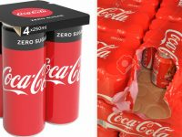 Coca-Cola substitui pack de plástico por de papel em suas latinhas na Europa 7