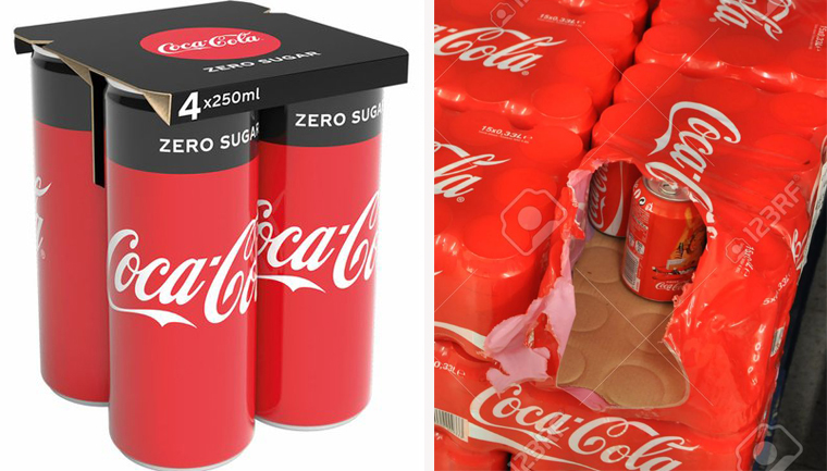 Coca-Cola substitui pack de plástico por de papel em suas latinhas na Europa 4