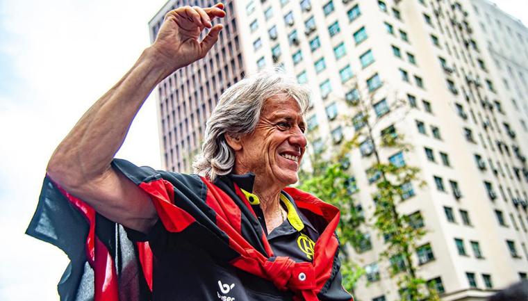 Técnico do Flamengo perdeu pai aos 92 anos e sagrou-se campeão aos 92 min 1