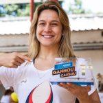 Causa da Educação, representada por Fernanda Gentil,é a grande vencedora da promoçãoGanhou, Causouda Nestlé 3