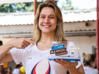 Causa da Educação, representada por Fernanda Gentil,é a grande vencedora da promoçãoGanhou, Causouda Nestlé 12
