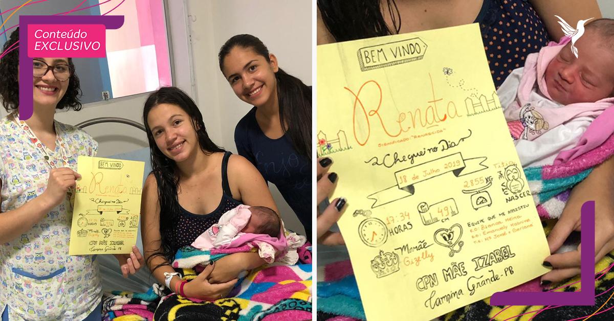 Enfermeiras fazem fichas de bebês à mão com desenhos fofos e muito amor 14
