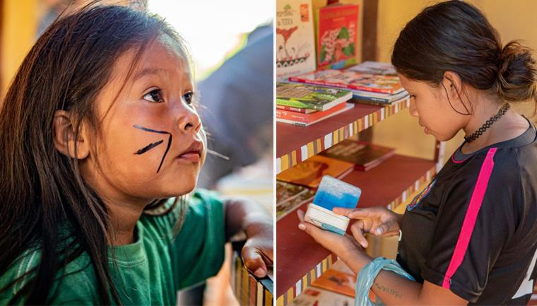 Aldeia de Paraty inaugura 1ª biblioteca indígena do RJ: 'crianças estão adorando' 1