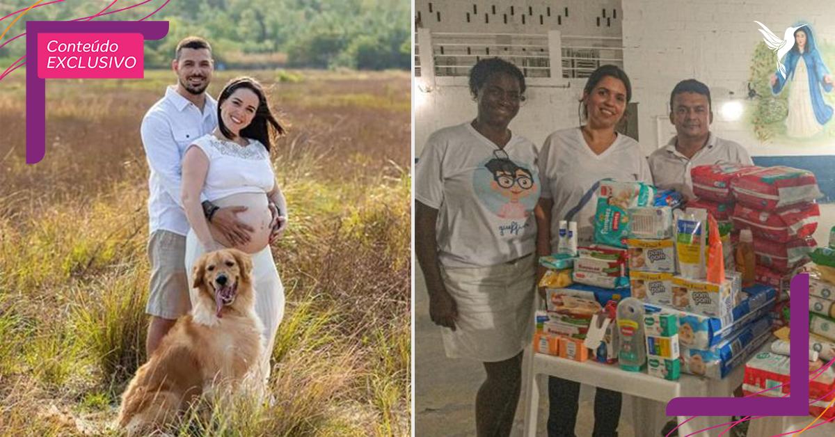 Fotógrafos trocam valor de ensaios por doações para famílias necessitadas no RJ 2