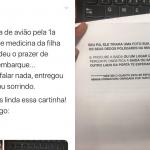 Carta de filha que ensina mãe a viajar de avião viraliza na web 9
