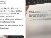 Carta de filha que ensina mãe a viajar de avião viraliza na web 3