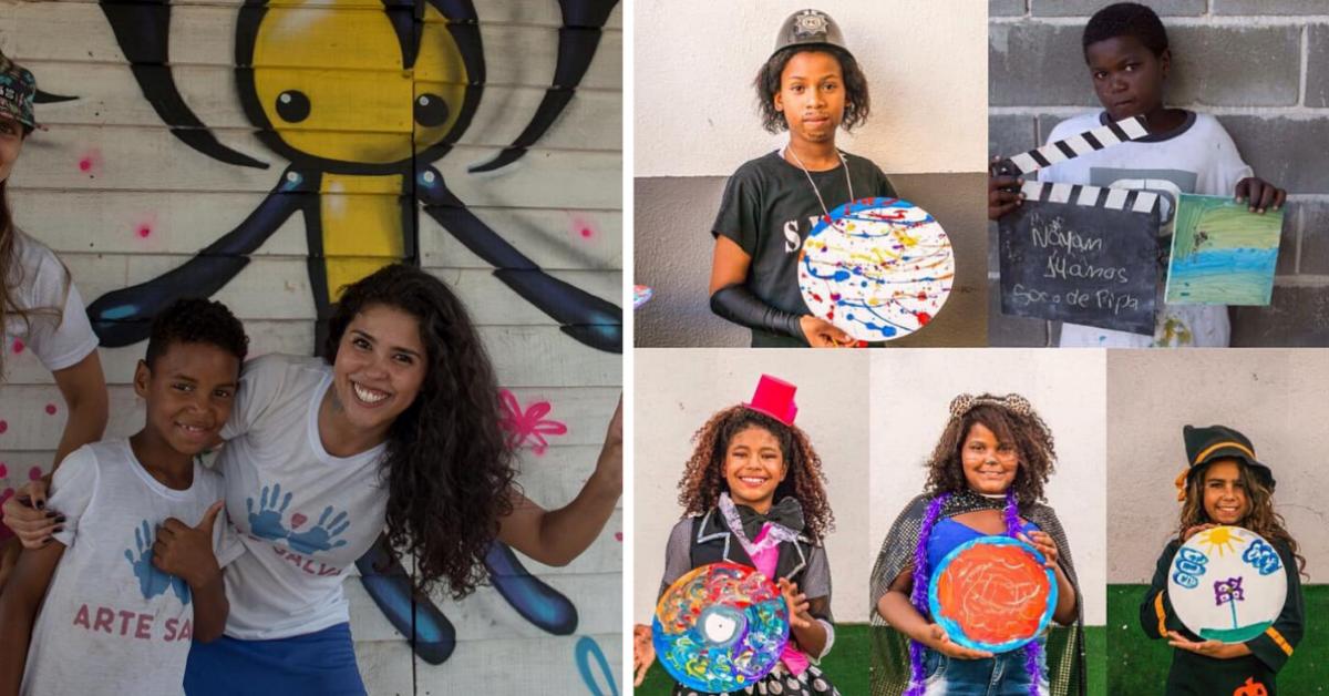 Projeto de artes vem mudando a vida de moradores do antigo lixão de Gramacho (RJ)